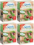 Splenda No Calorie Sweetener Naturals Made with Stevia Extract, Packets 2.8 oz(Pack Of 4)