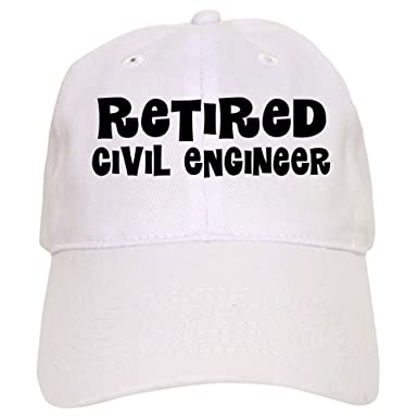 9becaff6286 Amazon.com  CafePress - Retired Civil Engineer Gift Baseball Cap ...