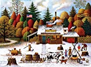 Buffalo Games - Charles Wysocki - Vermont Maple Tree Tappers - 1000 Piece Jigsaw Puzzle