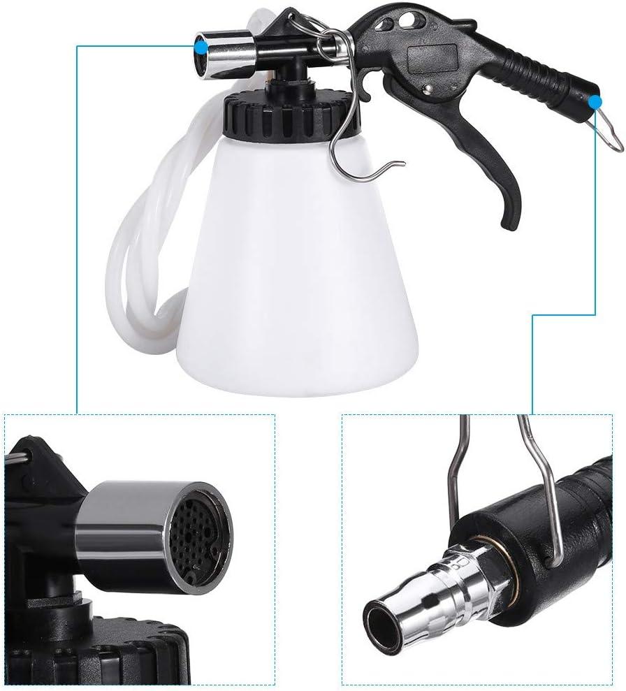 Kiorc 1L Pneumatic Brake Fluid Bleeder Kit Car Air Extractor Clutch Oil Bleeding Tool