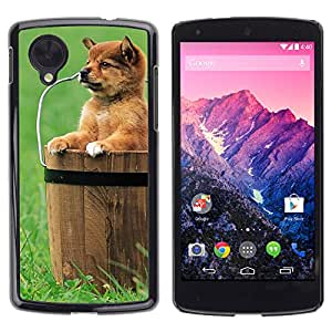 Hot Style Cell Phone PC Hard Case Cover // M00000699 Dogs Pattern // LG NEXUS 5