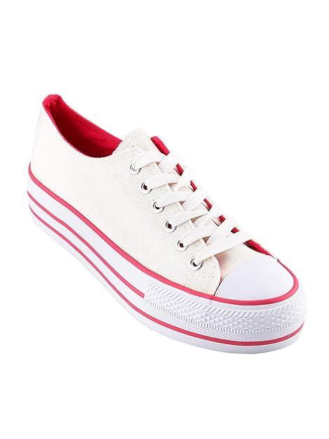 Original Marines - Zapatillas de Tela para Mujer: Amazon.es: Zapatos y complementos
