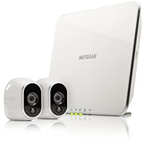 Arlo Smart Home - 2 HD Security Camera Kit, 100% Wire-Free, Indoor/Outdoor with Night Vision by NETGEAR (VMS3230-100EUS)