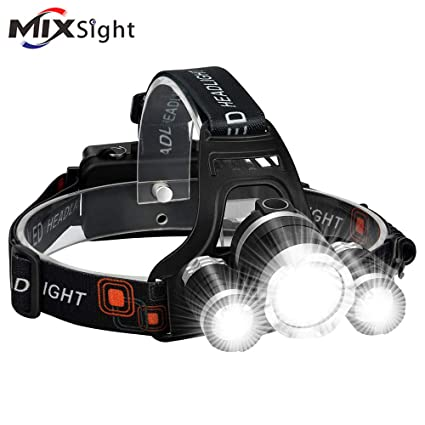 Linterna frontal recargable por USB Cobiz LED brillante de alta 6000 lúmene