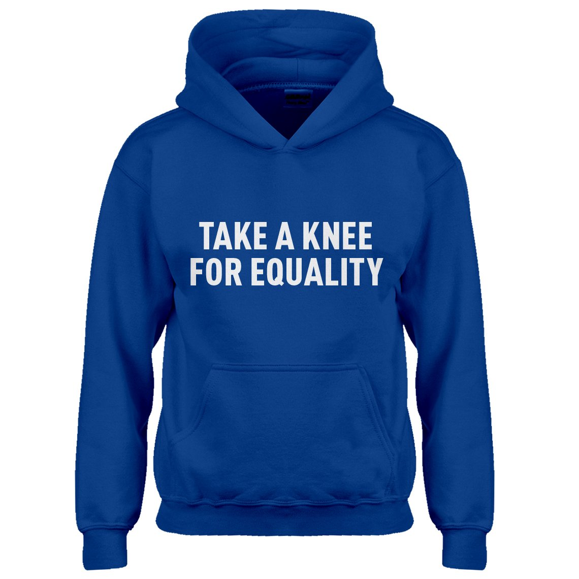 Indica Plateau Youth Take a Knee for Equality Kids Hoodie