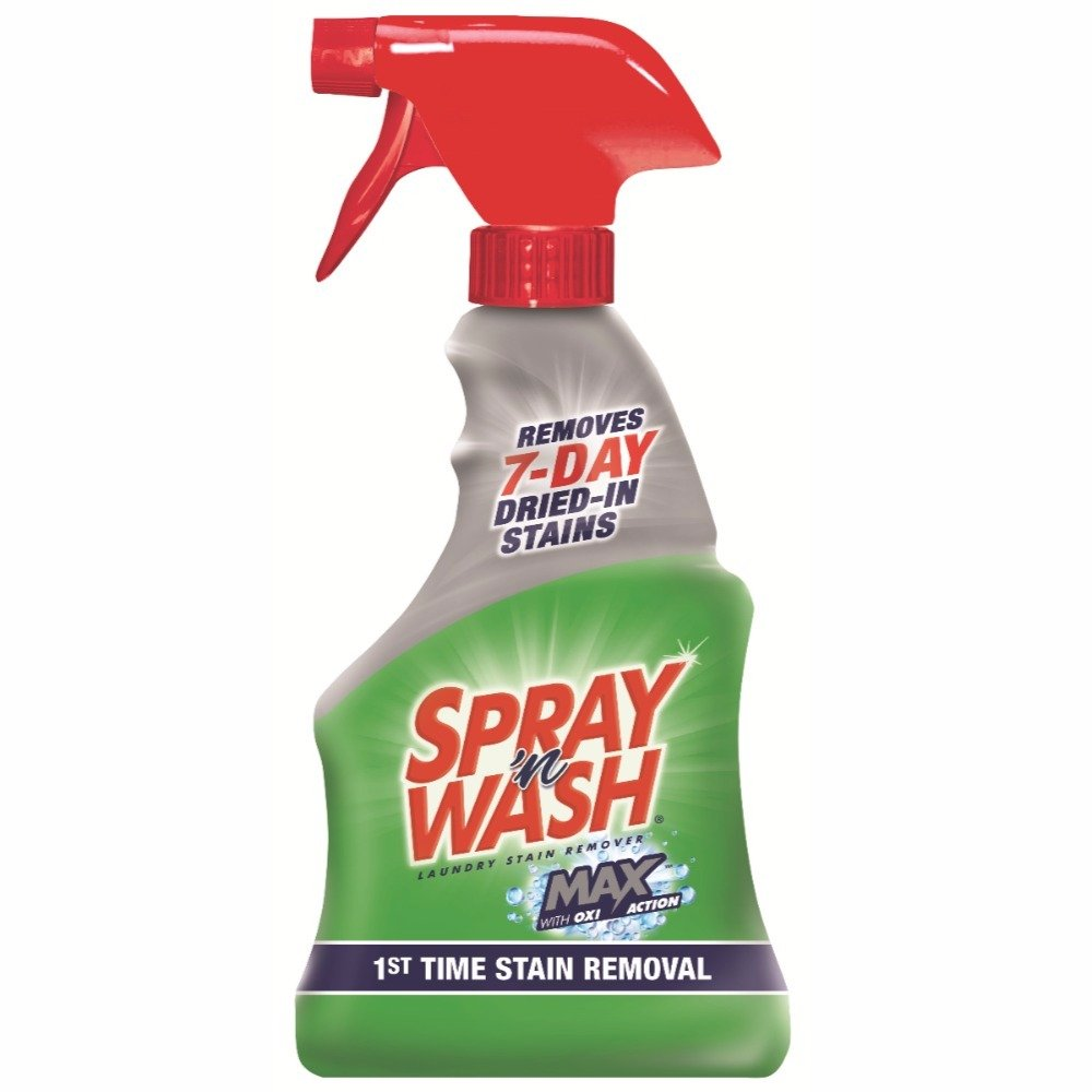 Spray 'n Wash Max Laundry Stain Remover, 16 fl oz Bottle (Pack of 8)