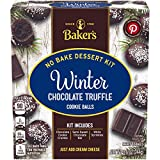 Baker's Winter Chocolate Truffle Cookie Balls No Bake Dessert Kit, 8.6 oz