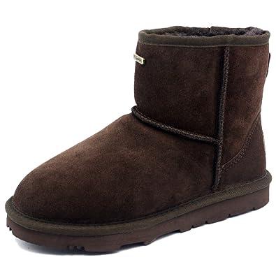 KOS Signature Women's Erin Ankle-High Australian Sheepskin Winter Boot