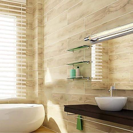 Lámparas de Espejo de baño- baño de Acero Inoxidable led Espejo de la lámpara Delantera