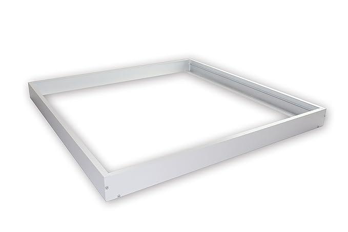White Aluminium Panel : Linnuo aluminium mounting frame for led panel mm cm