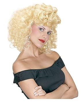 Horror-Shop 50s peluca rubia