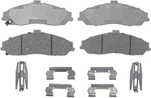 ACDelco Silver 14D731CH Ceramic Front Disc Brake Pad Set with Hardware