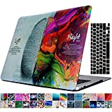 MacBook Air 11'' Case and Keyboard Cover, AICOO YCL 2-in-1 Beautiful Hard Case