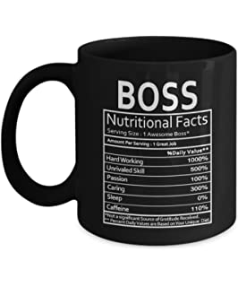 Boss Nutritional Facts Mug