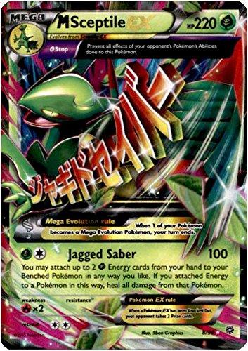 Mega/M Sceptile EX (XY Ancient Origins #8/98) Rare/Holo-Foil Pokemon Card