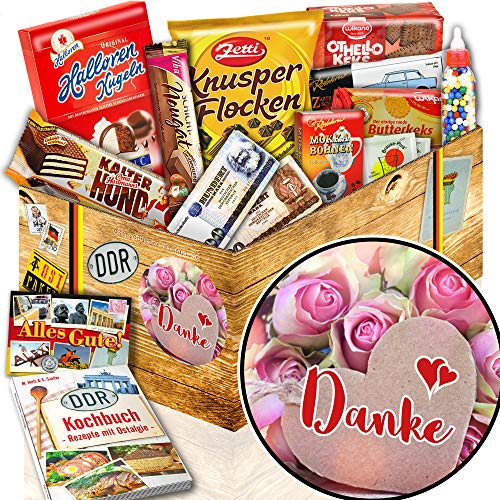 Danke – DDR Süßigkeiten Box – Geschenk Danke für alles