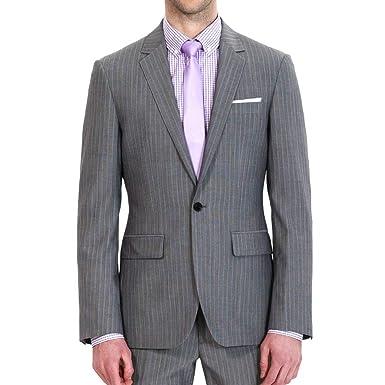 Calvinsuit Hommes Costume à Rayures Pour Homme 1 Bouton
