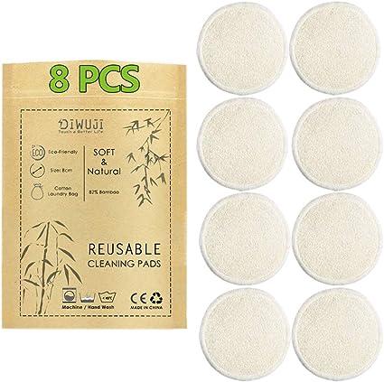 8 Pieza Almohadillas Desmaquillantes Reutilizables Discos De ...