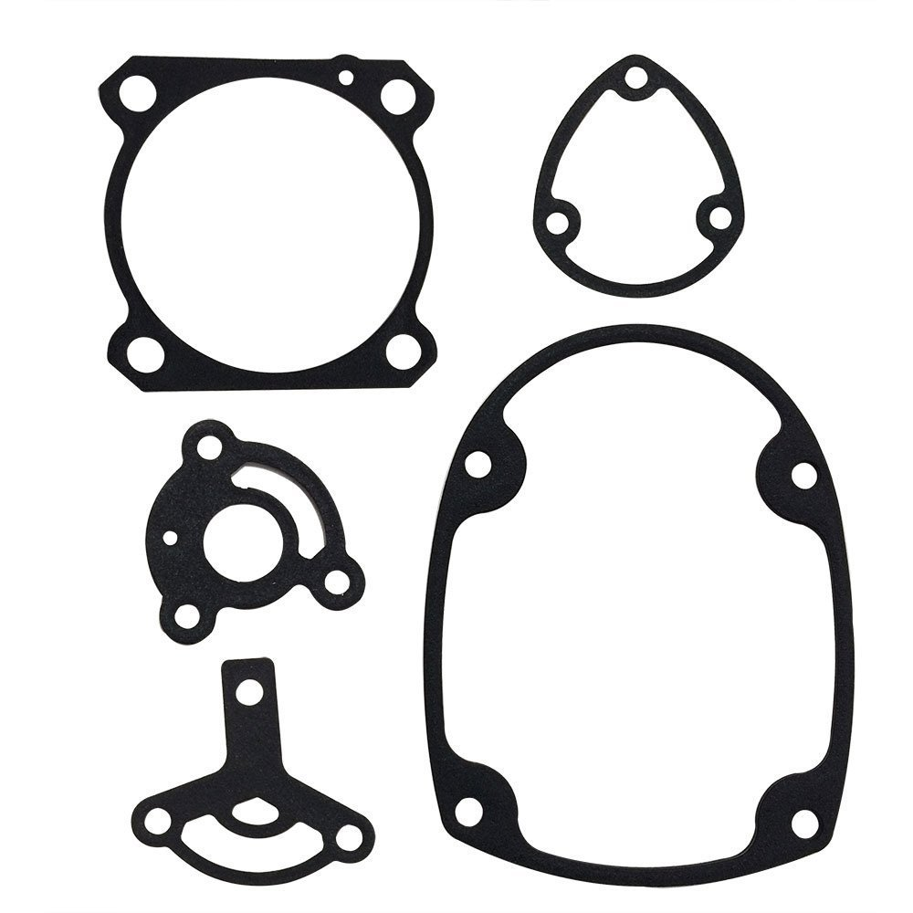 Superior Parts GS1-Q Aftermarket Gasket Set fits Hitachi NR83A and NV83A Series Nailers Includes (SP877-325Q, 326Q, 329Q, 331Q, 334Q) 5 PACK - Premium Materials Stainless Steel with Rubber Coating