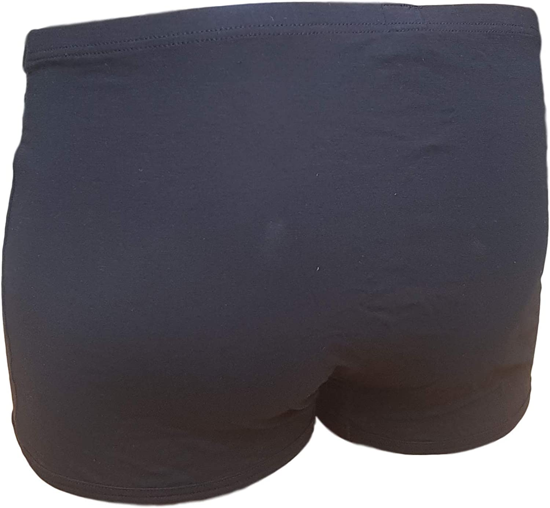 Grigio Perla Boxer Uomo Elastico Interno Lycra e Cotone GRIGIOPERLA 22172 Intimo Comfort