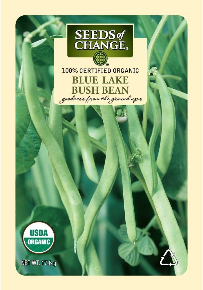 Seeds of Change Certified Organic Blue Lake Bush Bean