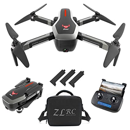 e1ec56b315343 GoolRC SG906 GPS RC Drone with 4K HD Front Camera and 720P Down-Looking  Camera, 5G WiFi FPV Foldable Brushless Drone, Optical Flow Positioning ...
