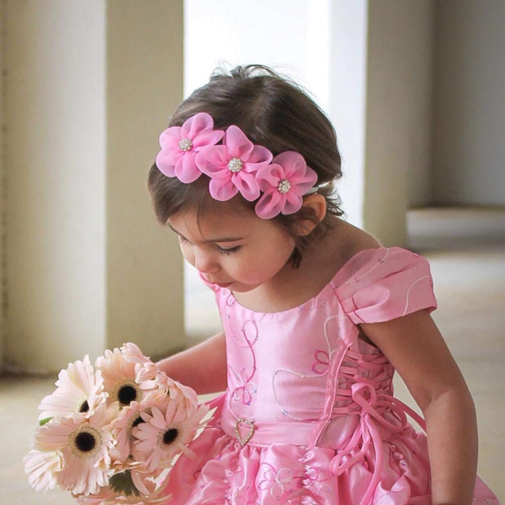 per bambina graziosa e graziosa blu blu Urben Life stile floreale morbida e confortevole Fascia per beb/è