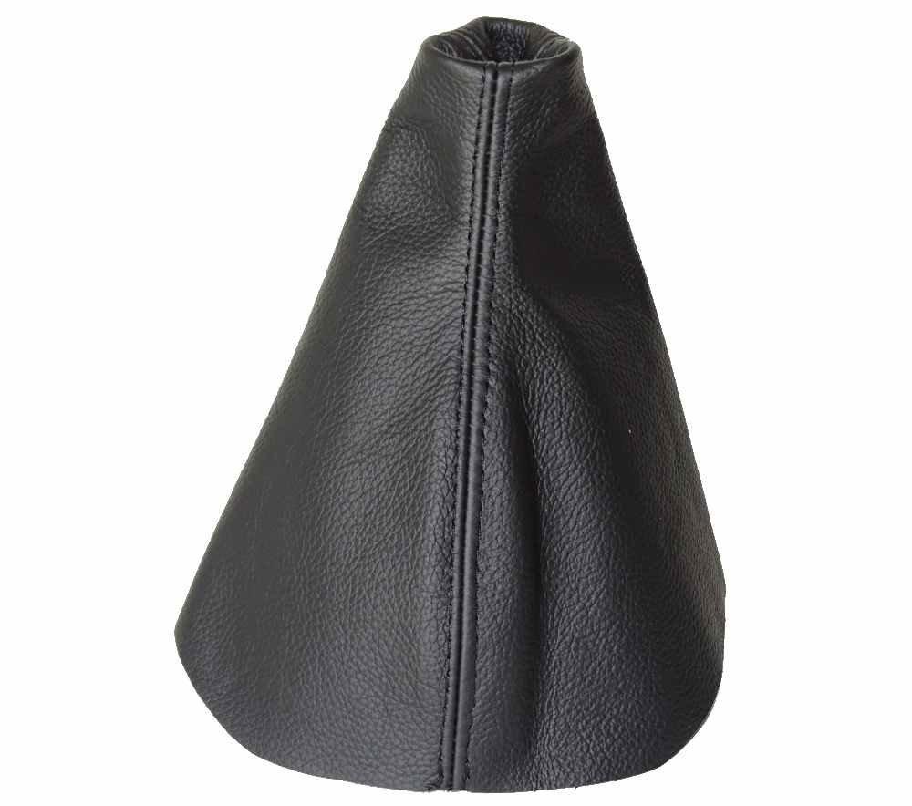 Soufflet de levier Noir cuir italien The Tuning-Shop Ltd