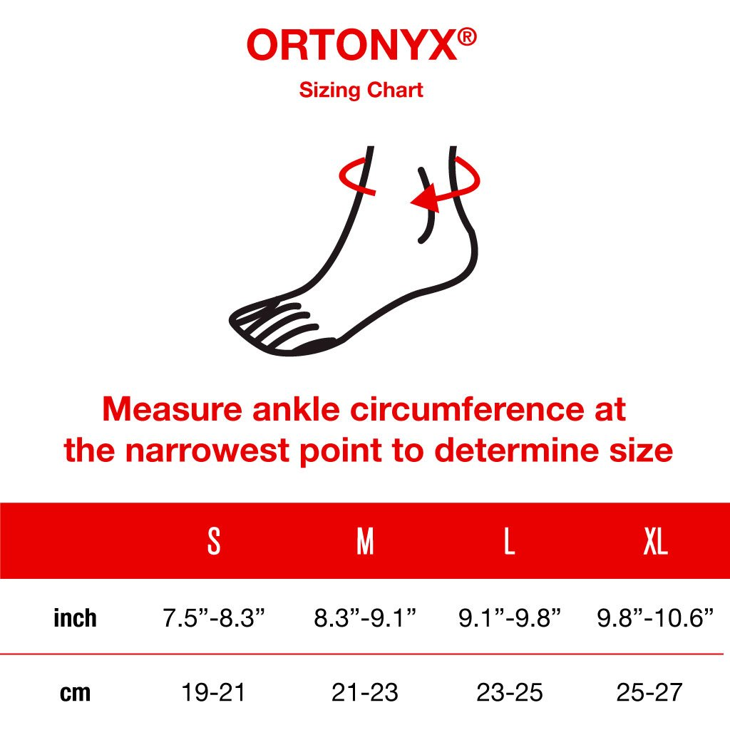 3161864b1f Amazon.com: ORTONYX Achilles Tendon Heel Protector Padded Compression Sleeve,  Ankle Support Sock for Bursitis, Tendonitis, Tenderness/S: Health &  Personal ...