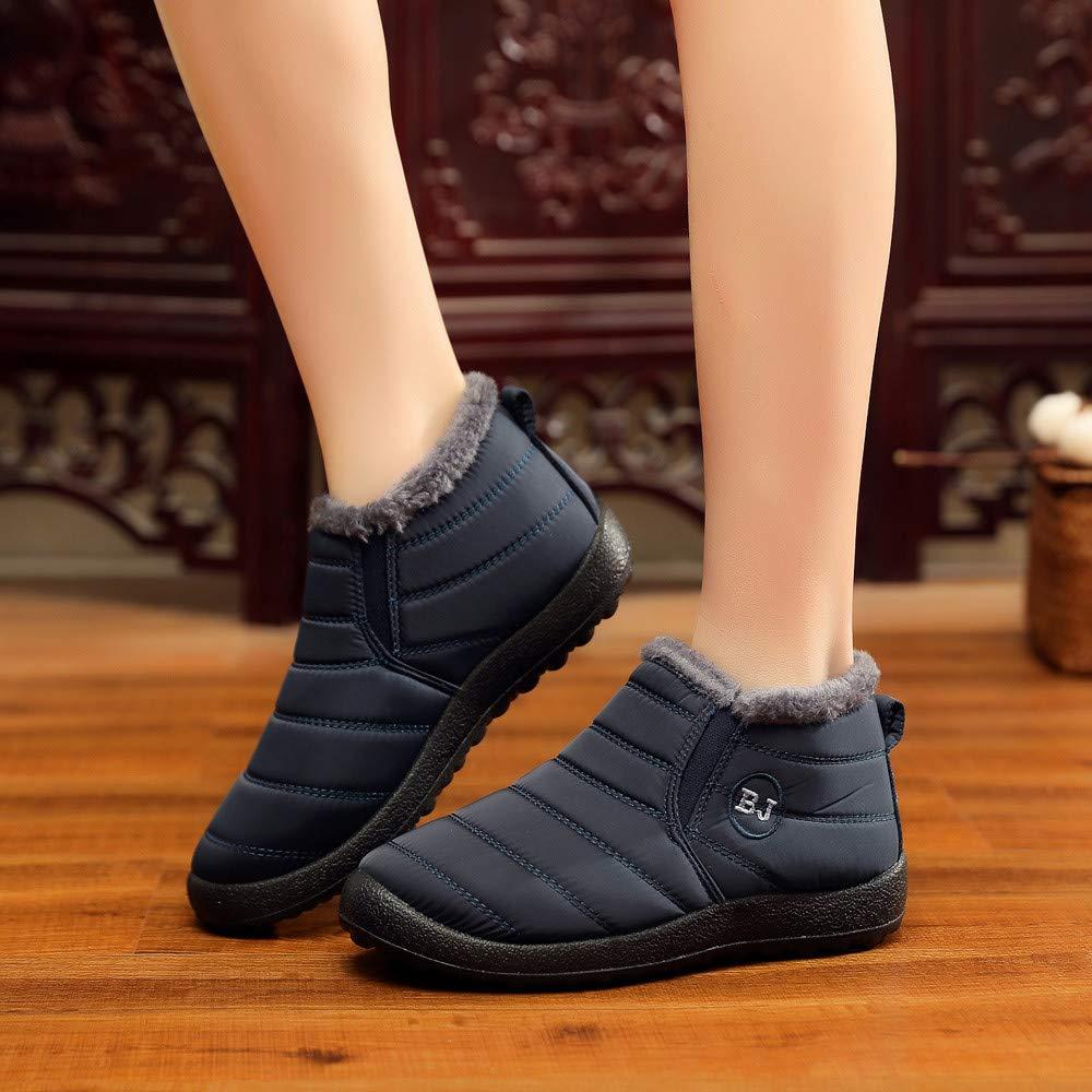 Hombre Mujer Botas de Nieve Antideslizante ZARLLE Zapatos ...