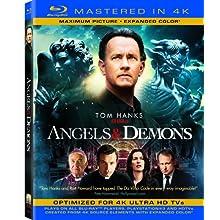 Angels & Demons (Mastered in 4K) (Single-Disc Blu-ray + Ultra Violet Digital Copy) (2009)