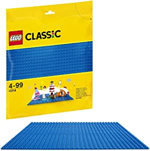 LEGO Classic Blue Baseplate 10714 Building Kit (1 Piece)