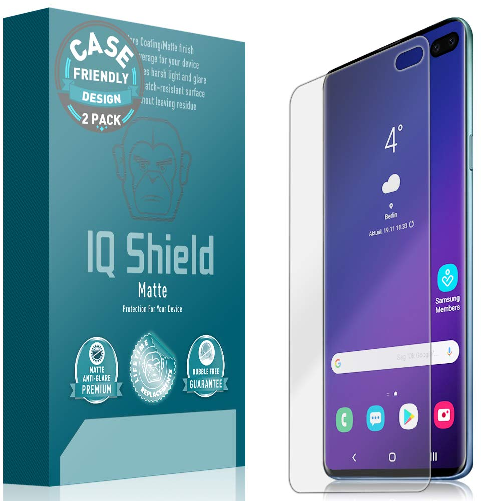 Film Protector Mate Iqshield P/ Samsung S10 Plus Pack X 2