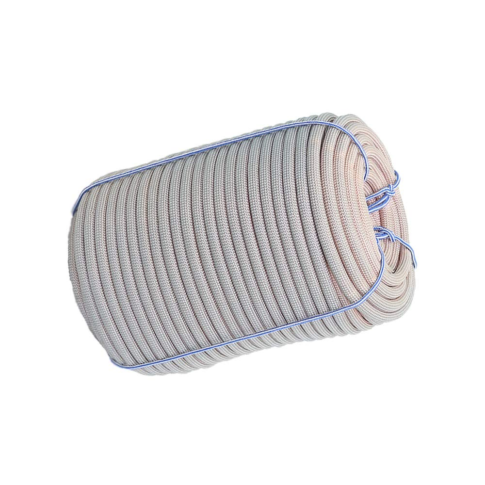 LIINA ロープ 火災避難ロープ安全ロープ、22ミリメートル、10メートル/ 20メートル/ 30メートル/ 50メートルのナイロン素材酸やアルカリ耐食性の強い引張強さ耐久性に優れたフォトクロミック (Size : 50m)  50m