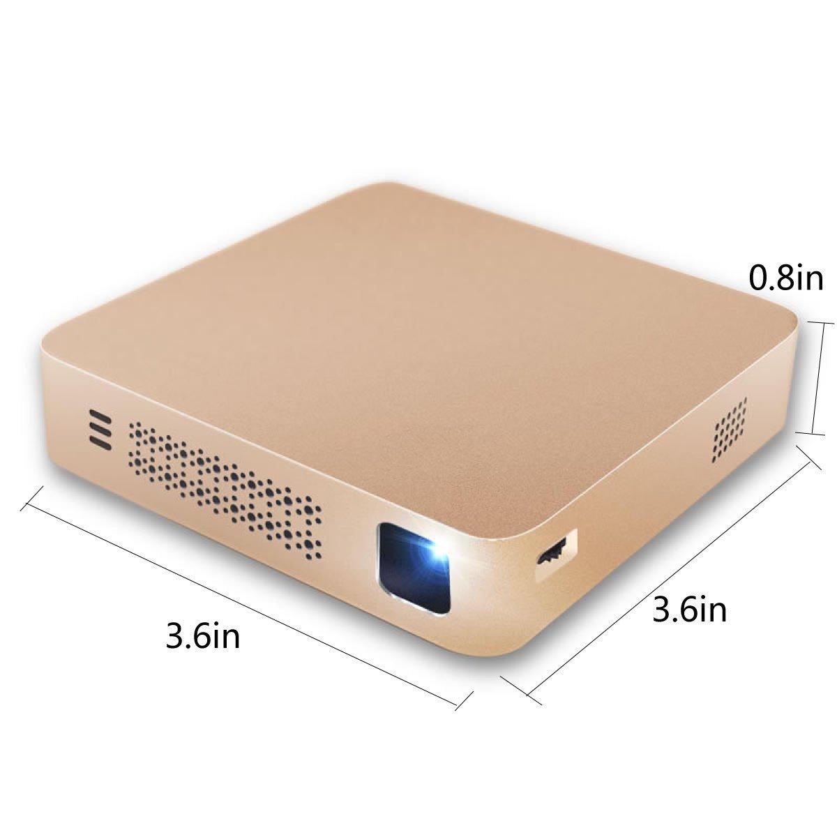 Proyector Mini Home Smartphone Projector Proyector Portátil HD ...