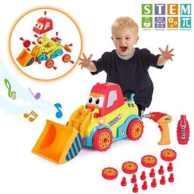 VATOS Take Apart Car Construction Toys for 3 -4...