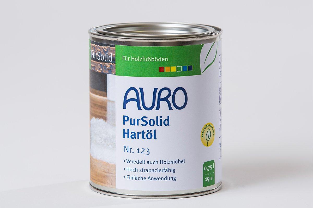 AURO Huile dure, PurSolid - No. 123