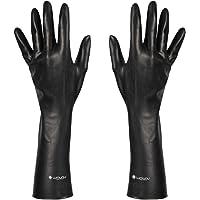 Guantes de látex Deluxe Dark Line, guantes