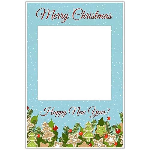 Amazon Com Happy Holidays Christmas Cookies Selfie Frame Social
