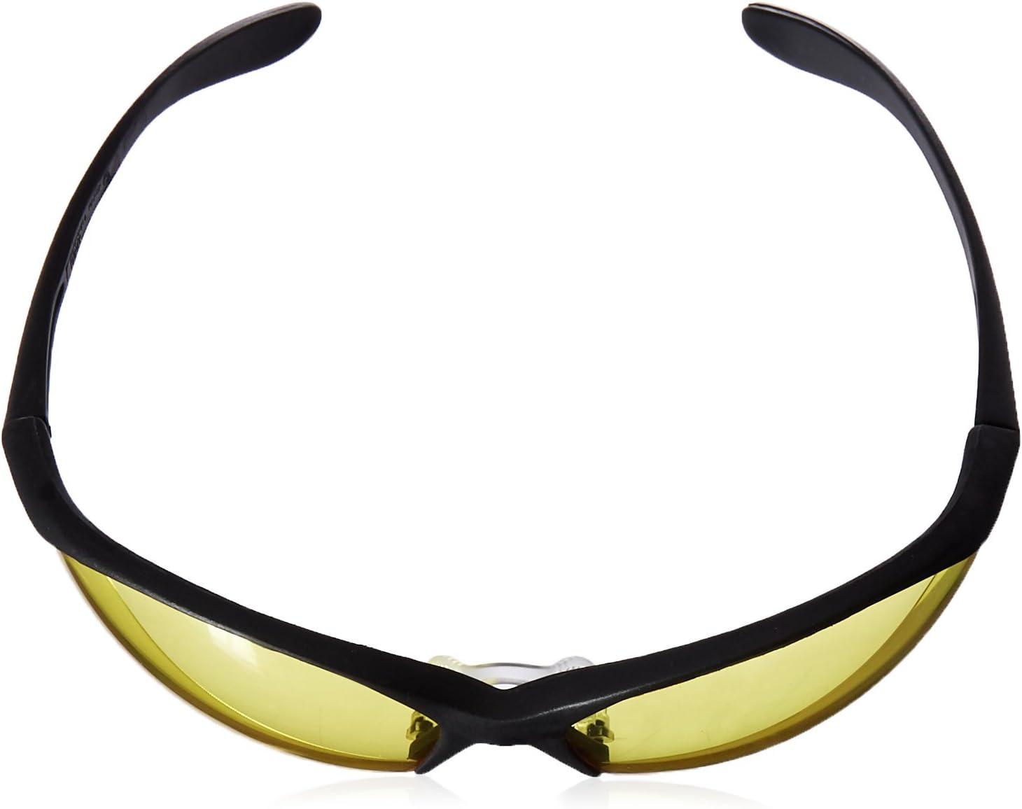 Howard Leight by Honeywell Vapor II Sharp-Shooter Anti-Glare Shooting Glasses, Amber Lens (R-01536) - Ear Protection Equipment -