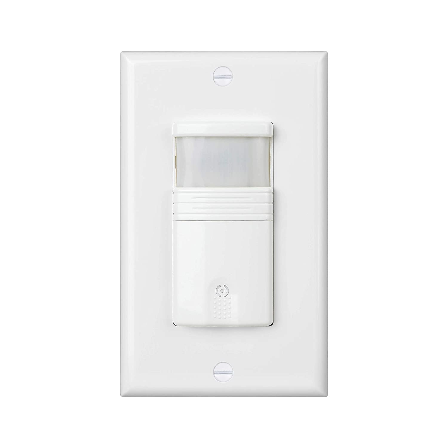 (Pack of 1) White 3-Way Motion Sensor Light Switch (Not Single Pole) – NEUTRAL Wire Required – For Indoor Use – Vacancy & Occupancy Modes – Title 24, UL Certified – Adjustable Timer 61D5s5pWrlL