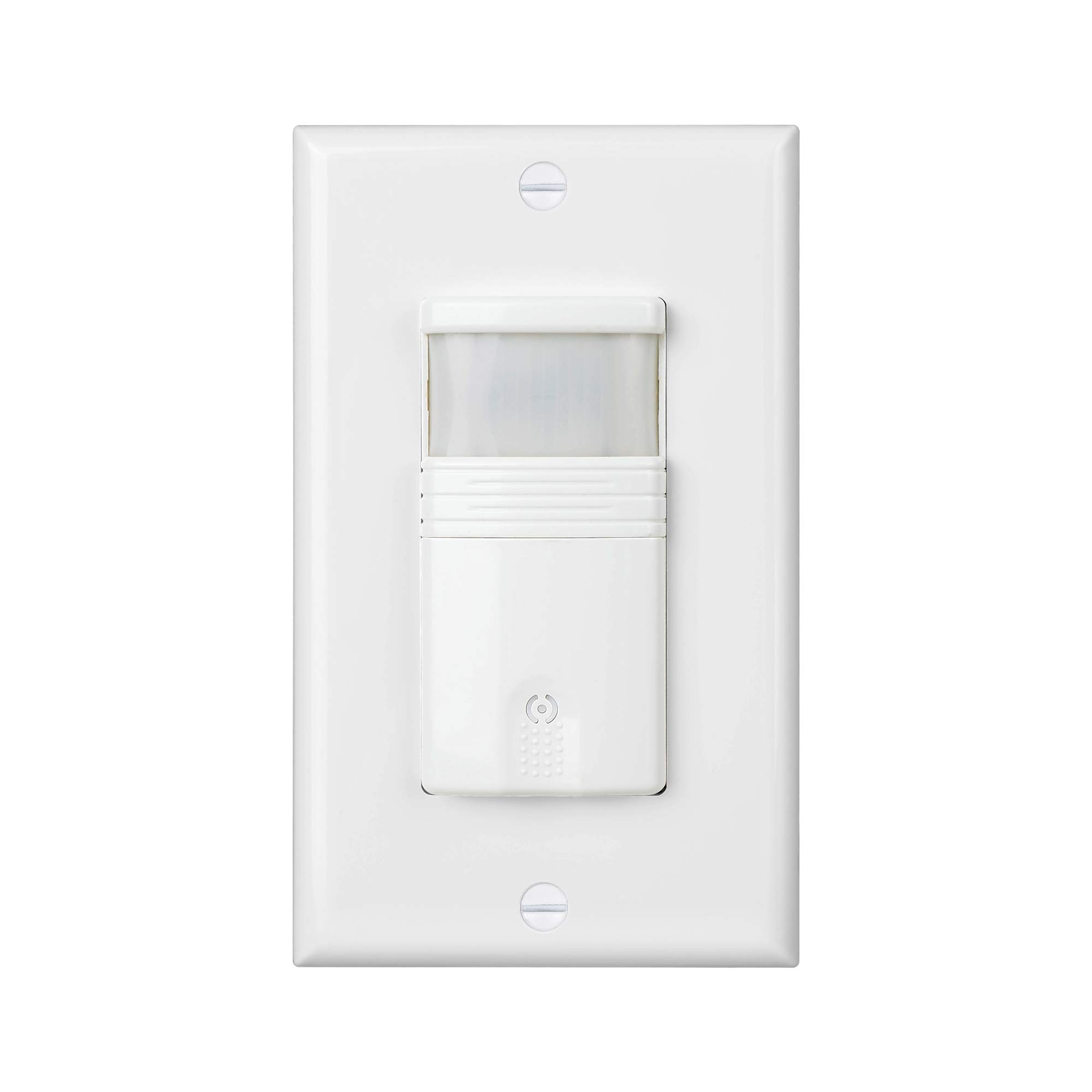 (Pack of 2) White 3-Way (Not Single Pole) Motion Sensor Light Switch - NEUTRAL Wire Required - For Indoor Use - Vacancy & Occupancy Modes - Title 24, UL Certified - Adjustable Timer