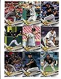 2017 Topps Pittsburgh Pirates Complete Master Team Set of 30 Cards (Series 1, 2, Update): Josh Bell(#30), Neftali Feliz(#52), Starling Marte(#58), Ivan Nova(#80), Matt Joyce(#93), Gregory Polanco(#149), Francisco Cervelli(#198), Sean Rodriguez(#250), Wade LeBlanc(#254), Tony Watson(#256), David Freese(#302), Jameson Taillon(#323), Tyler Glasnow(#349), Felipe Rivero(#353), Josh Harrison(#382), Adam Frazier(#383), Pittsburgh Pirates(#472), Gerrit Cole(#587), John Jaso(#615), plus more