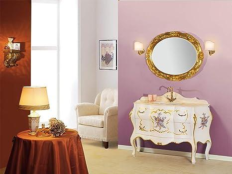 Piesse mobili mobile da bagno in legno massello arredo classico