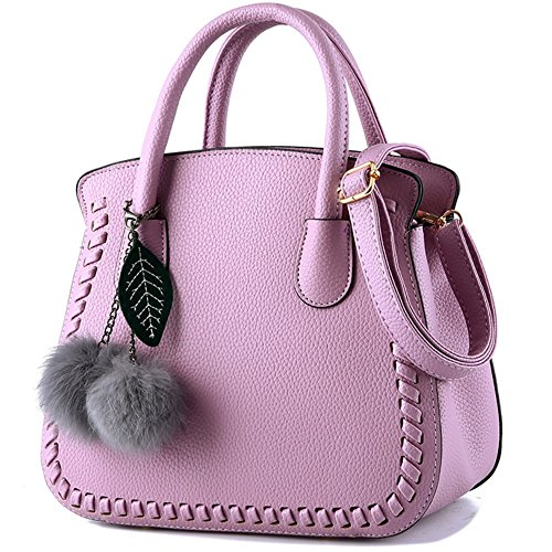 Women Autumn Pu For Trend L004fr Ladies' Of Strap violet Shoulder Bag Simple Leather With Clair Fashion Handbags qITxfX