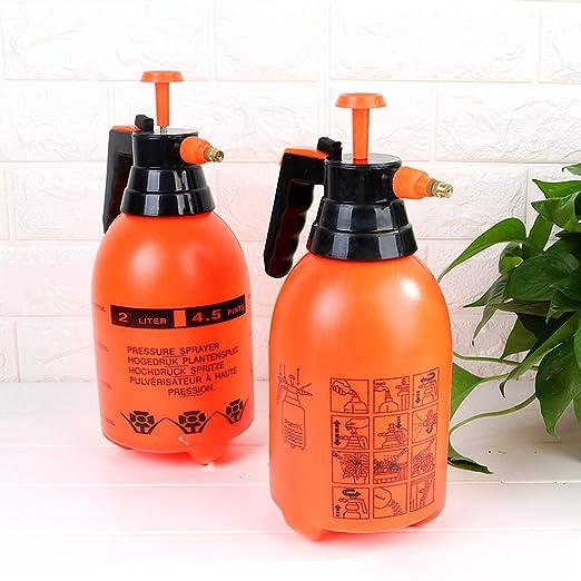 Pulverizador a presión de 2 litros, pulverizador de jardín de mano para productos químicos y plaguicidas: Amazon.es: Jardín