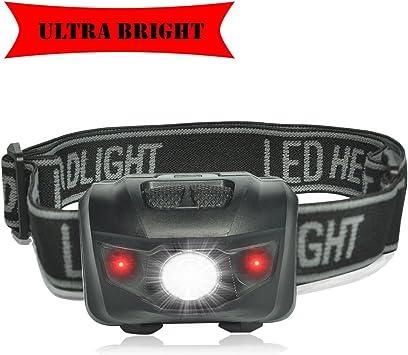 New Blitzu i2 Headlight Flashlight Brightest LED Headlamp with Red Light