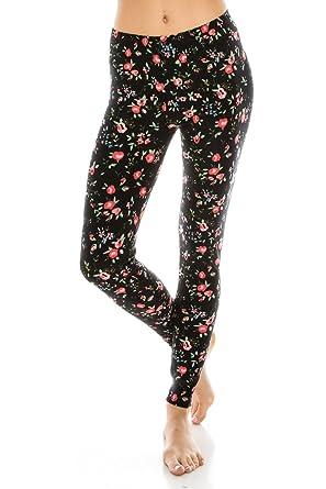 38b0fce735505 ALWAYS Women Printed Soft Leggings - Super Soft Strech at Amazon ...