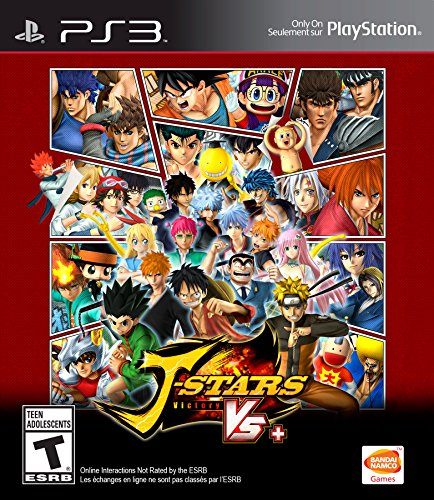 J-Stars Victory Vs+ - PlayStation 3 (Best Split Screen Ps3 Games)