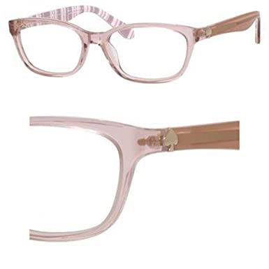 6124f64986 Image Unavailable. Image not available for. Color  Kate Spade Brylie 0QGX  Beige Striped White Eyeglasses